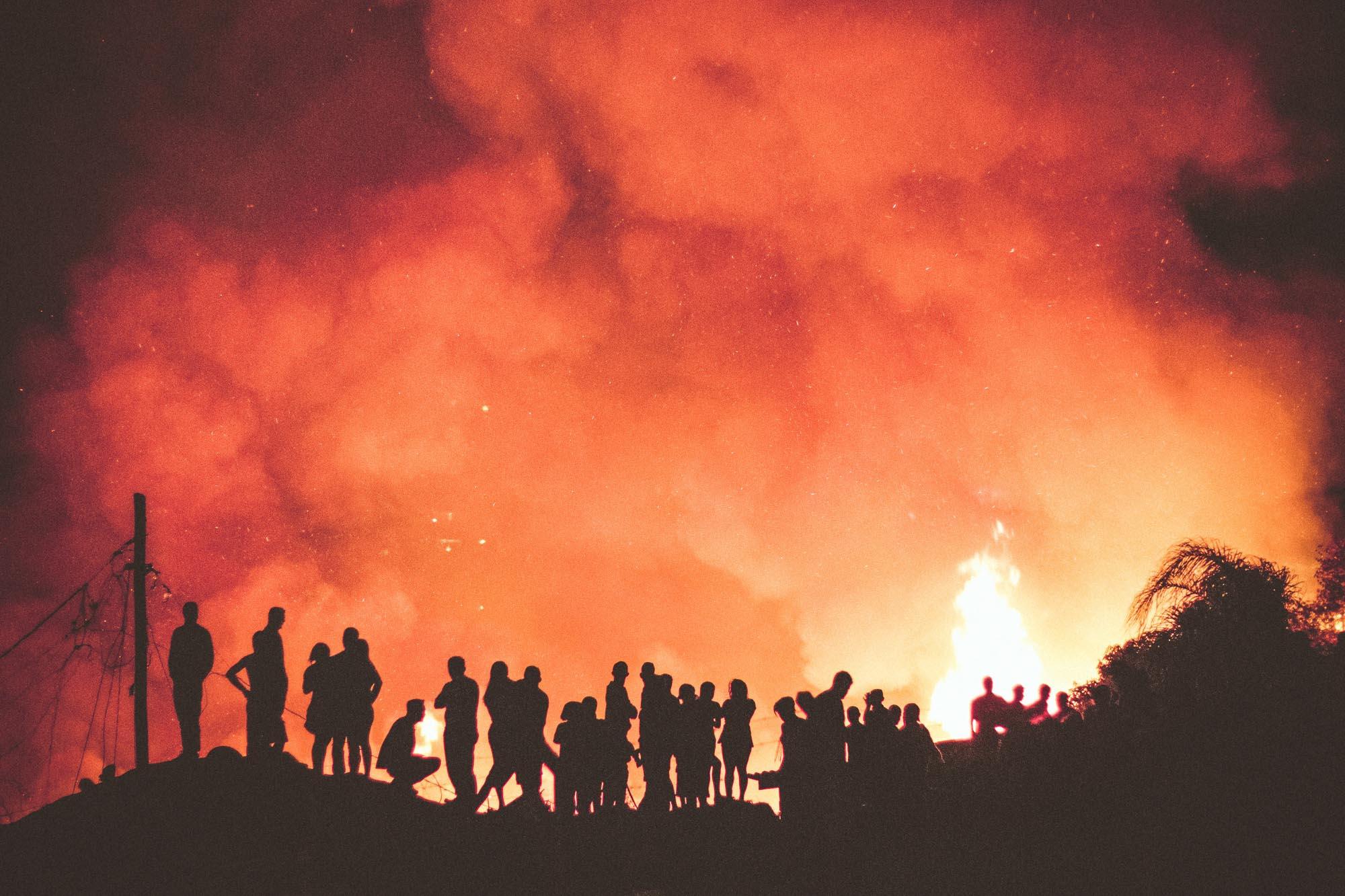 Incêndios e queimadas